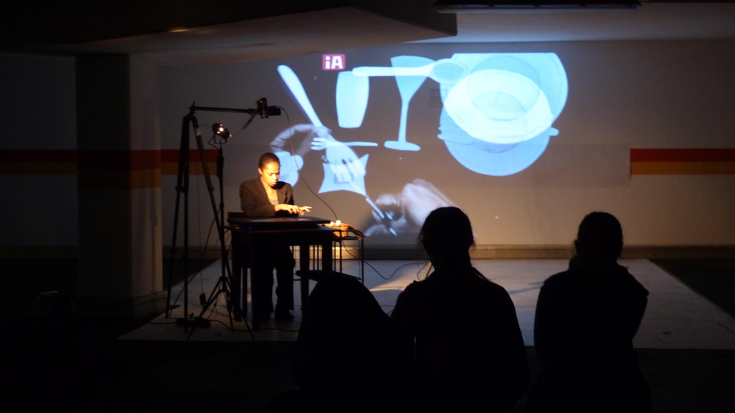 2014 - Tanztheater Pina Bausch Underground 3 Wuppertal - Bühnenbild / Performance- Regina Advento