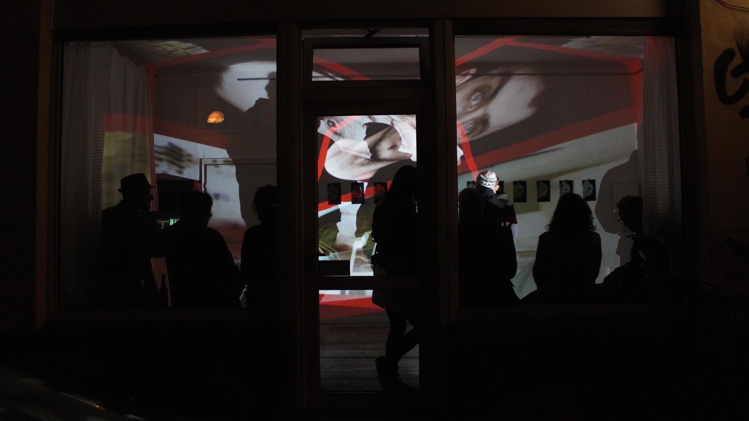 2015 - Video Installation In Public Art - Leyendecker´ - Köln