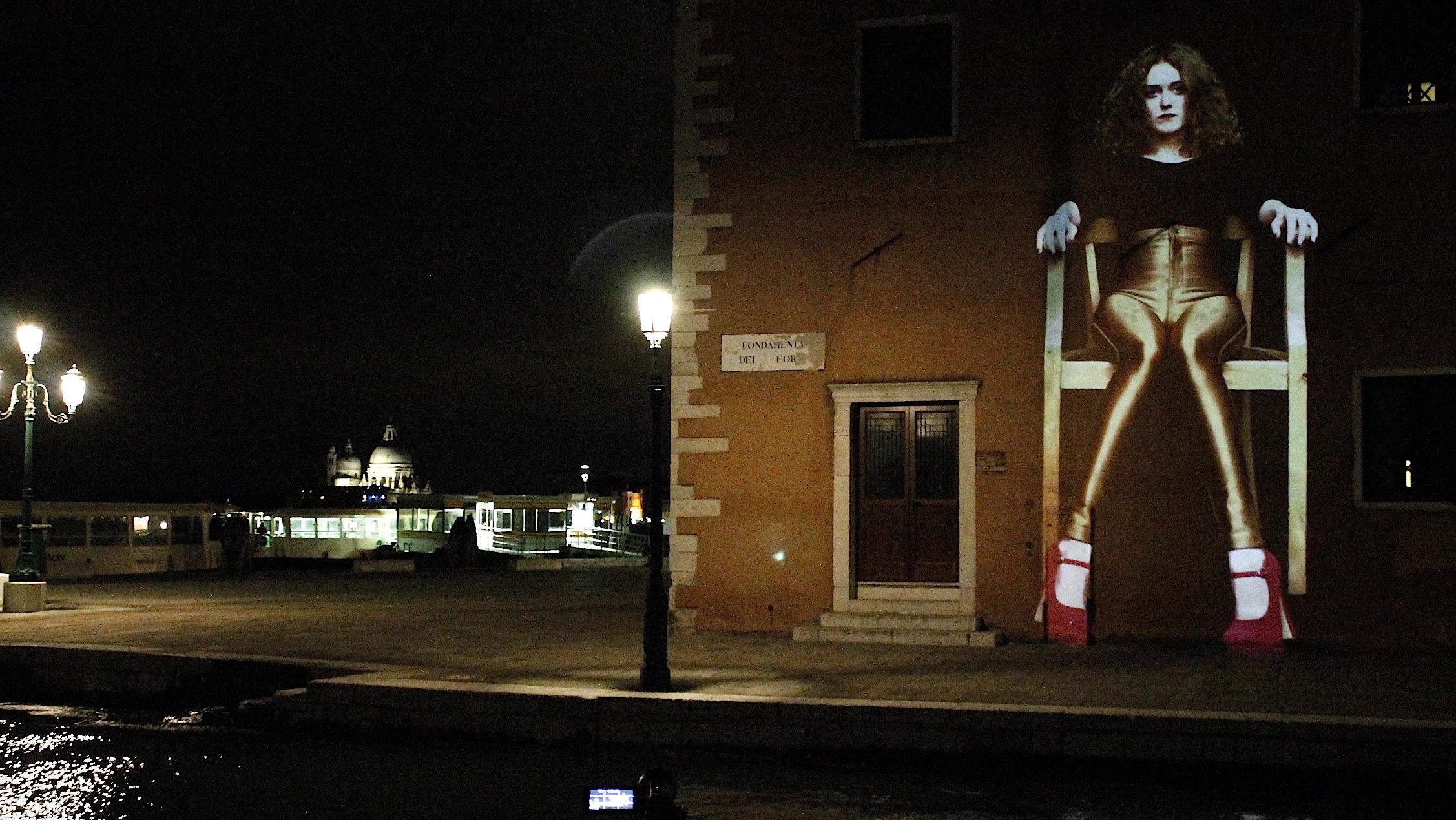2014 - Video Installation In Public Art - Quadrulpa - Venedig