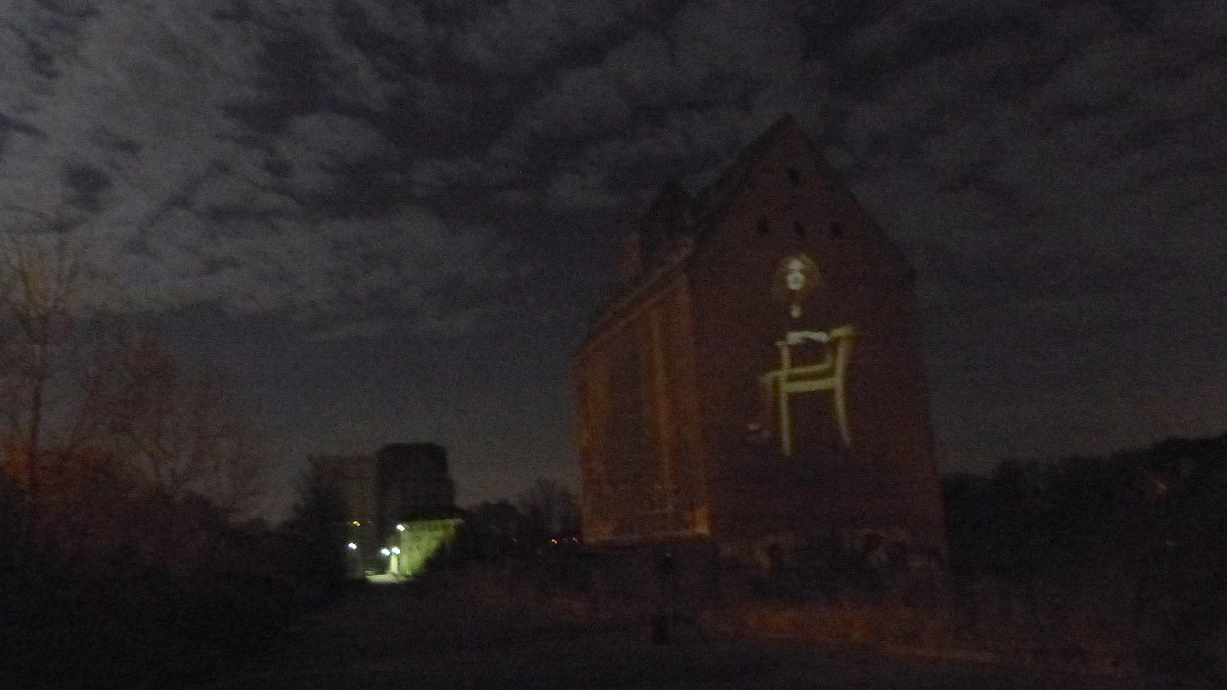 2014 - Video Installation In Public Art - Quadrulpa - Leipzig