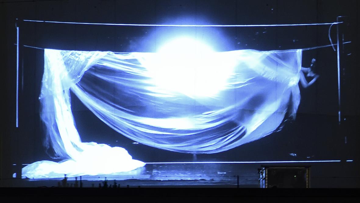 42xxx Kai Fobbe Regina Advento  Video Installation Bundeallee Public Art