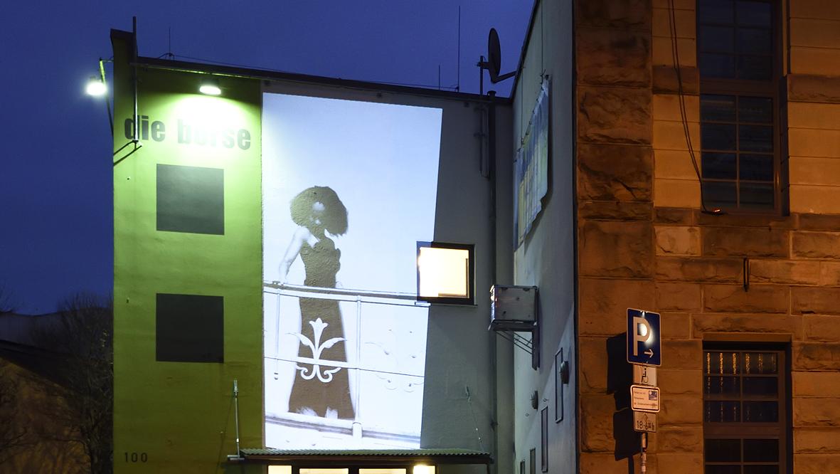 42xxx Kai Fobbe Regina Advento  Videoinstallation Wolkenburg  Public Art