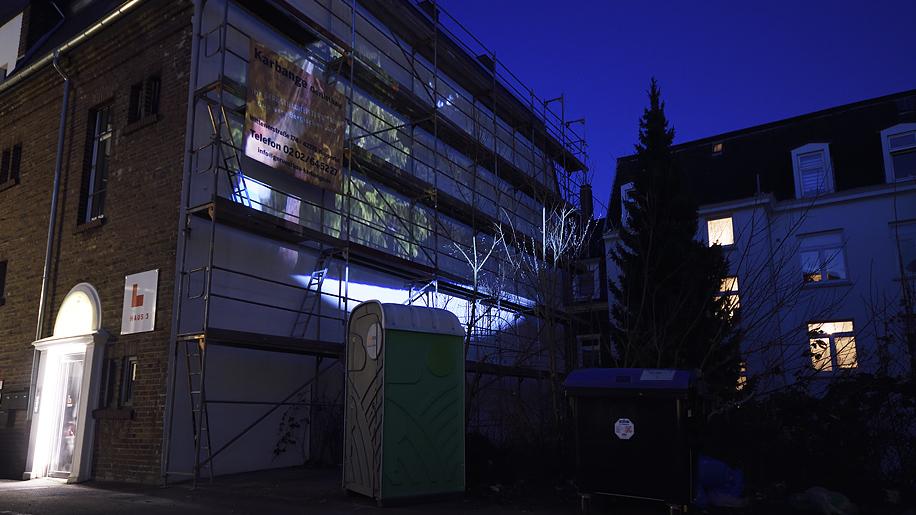 42xxx Kai Fobbe Regina Advento Videoinstallation Königsberger Höfe  Public Art
