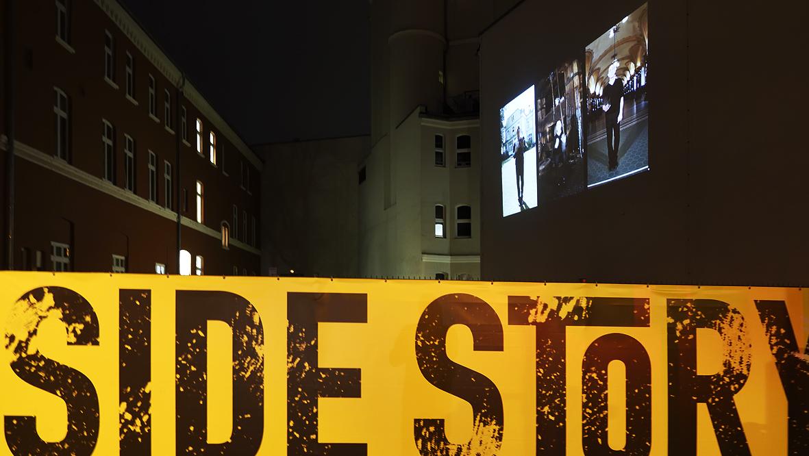 42xxx Kai Fobbe Regina Advento  Videoinstallation Winklerstr.  Public Art Opertnhaus Wuppertal