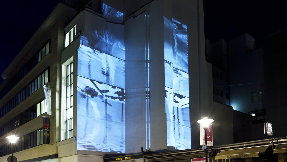42xxx Kai Fobbe Regina Advento  Video Installation Kirchstr.  Public Art