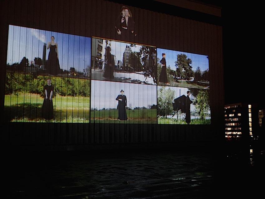 2018 Wuppertal Schauspielhaus - Public Art - Raster - Videoinstallation