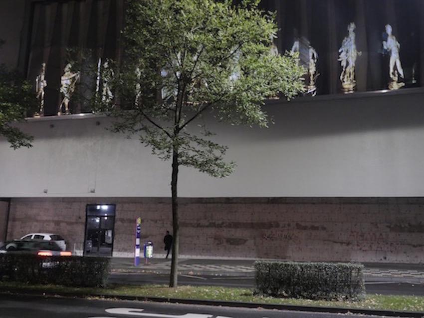 2018 Duisburg Liebfrauen Kirche - Public Art - Textur - Videoinstallation
