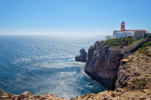 Edge of the world 🌍 #sagres #sagresportugal #lighthouse #algarve