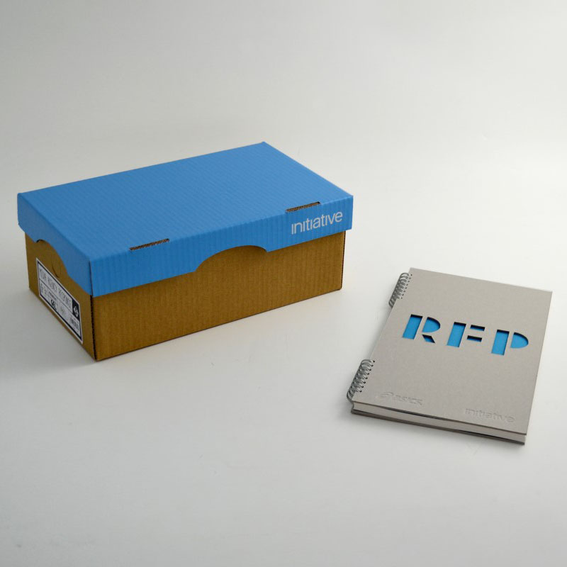 Initiative - Shoe Style Cardboard Box
