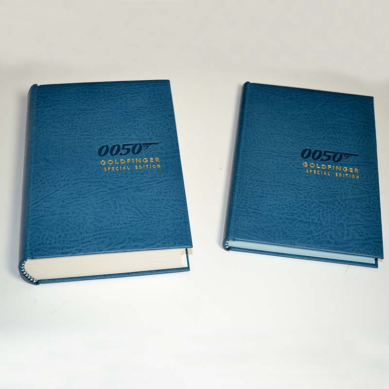 007 Leather Bound Books