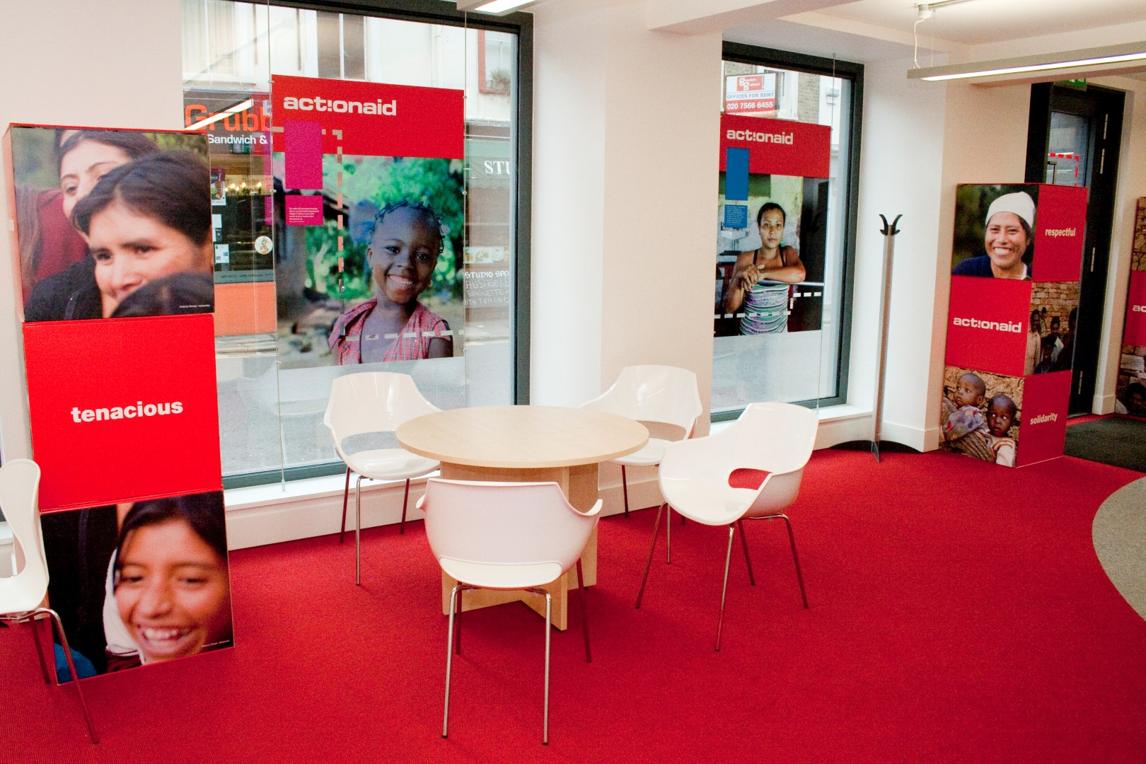 Action Aid Office Designs
