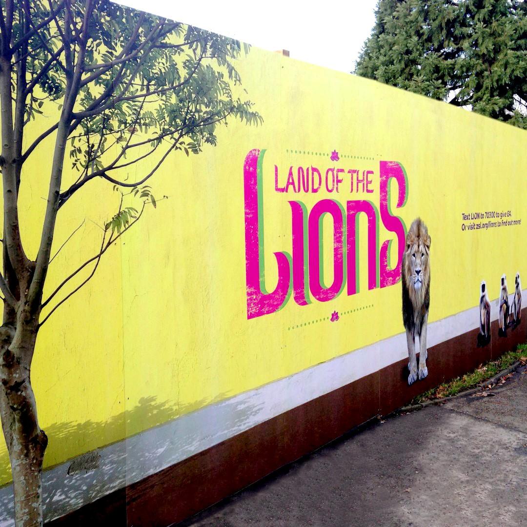 Site Hoarding - London Zoo