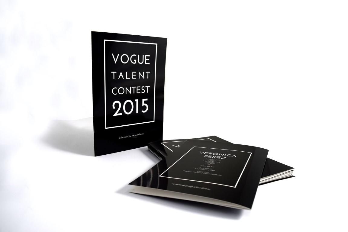 Vogue Talent Content A4 Brochure