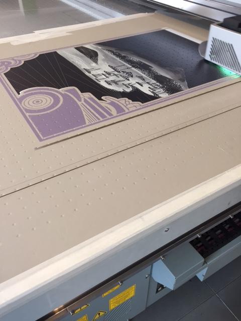 leather printing