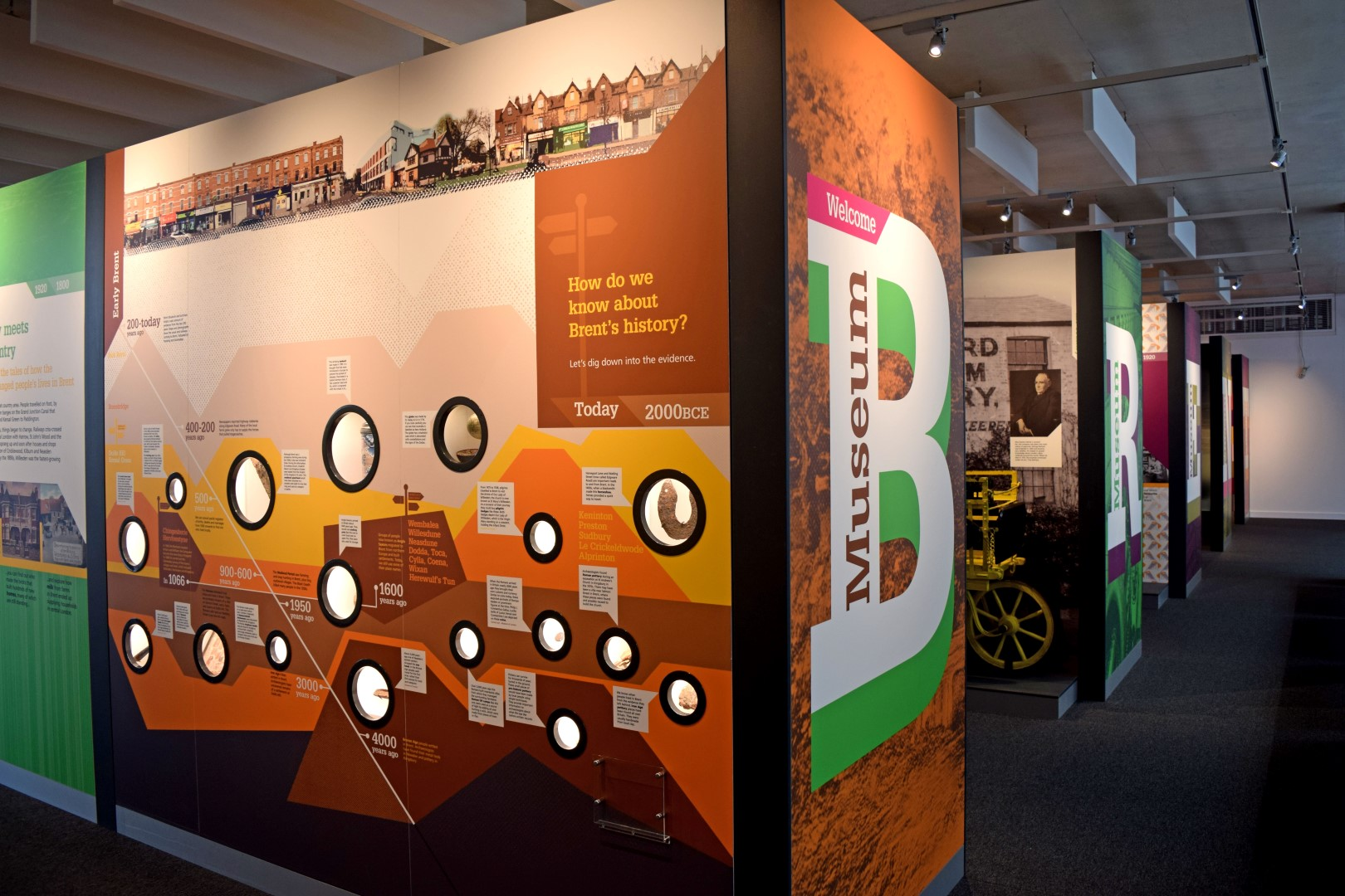 Brent Museum Display
