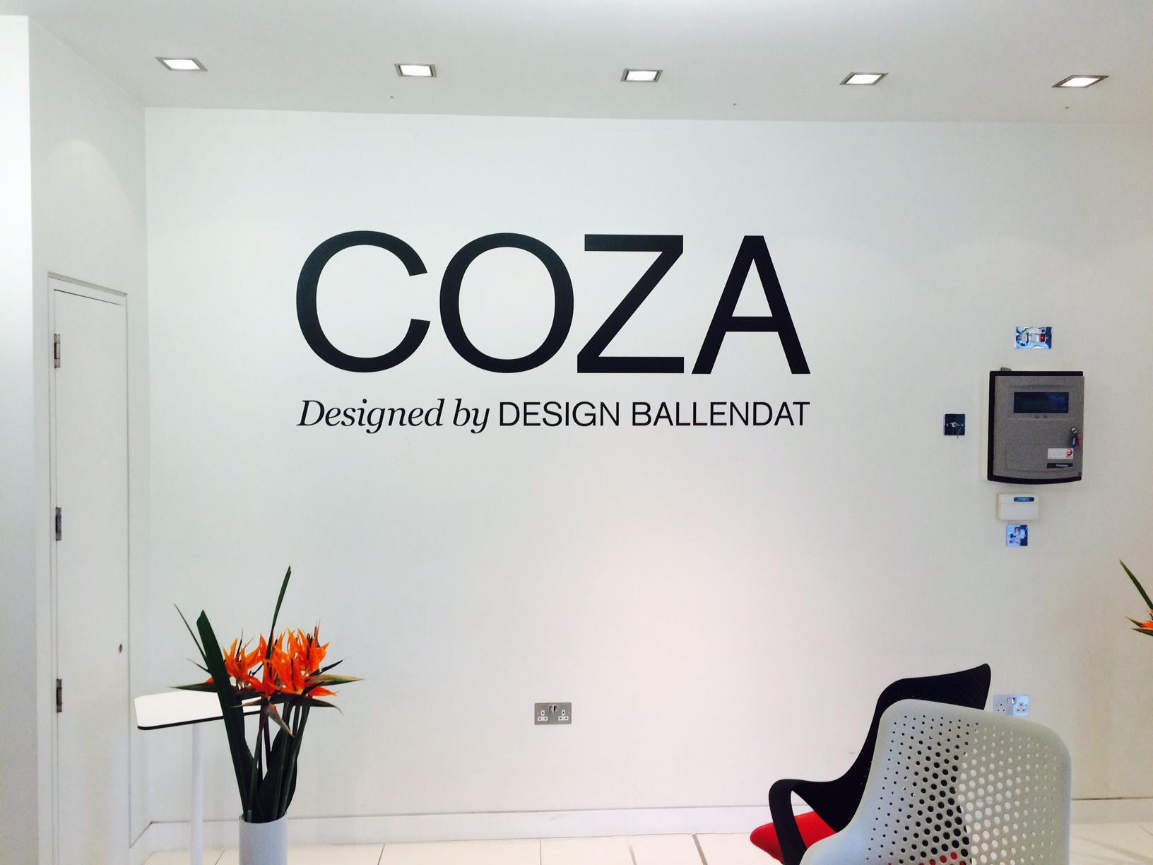 Interior Office Branding