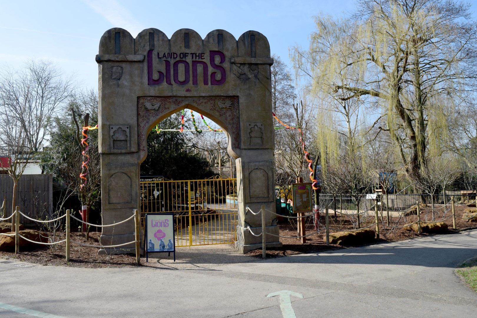 Land of the Lions Entrance