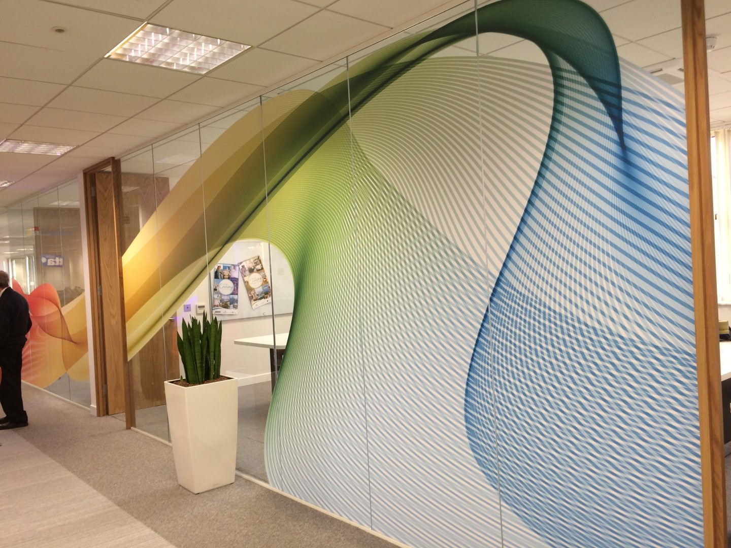 Office Glass Graphic Designs