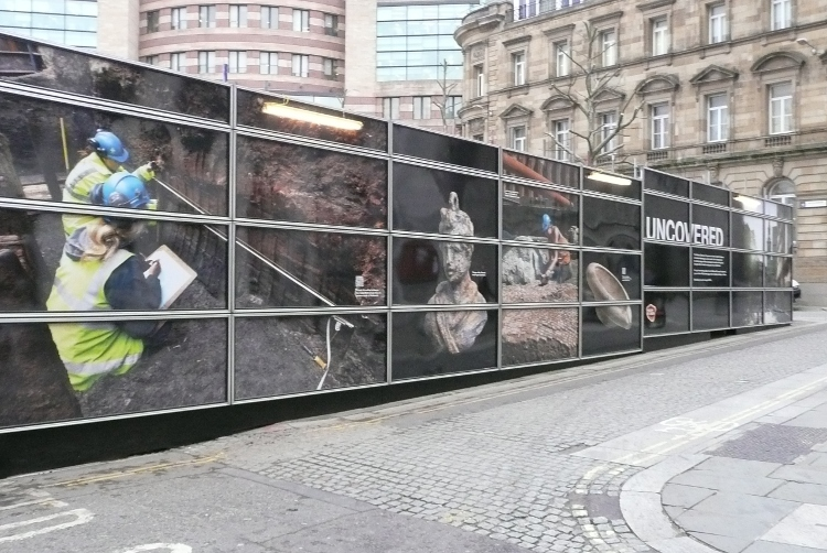Printed Hoarding - Construction