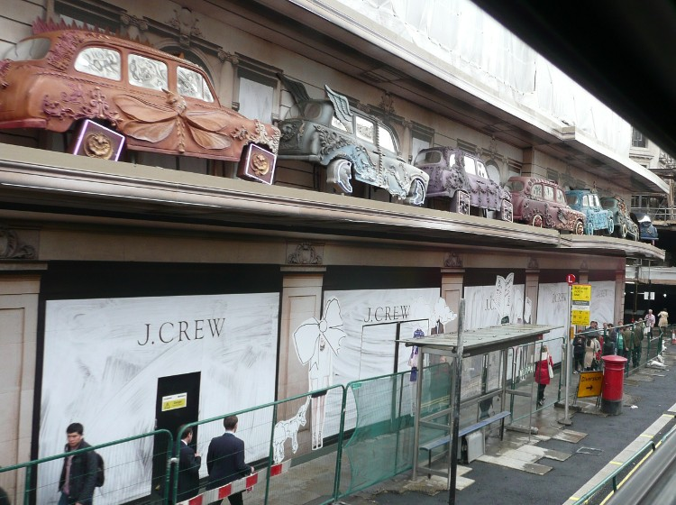 J Crew Retail Hoarding Graphics