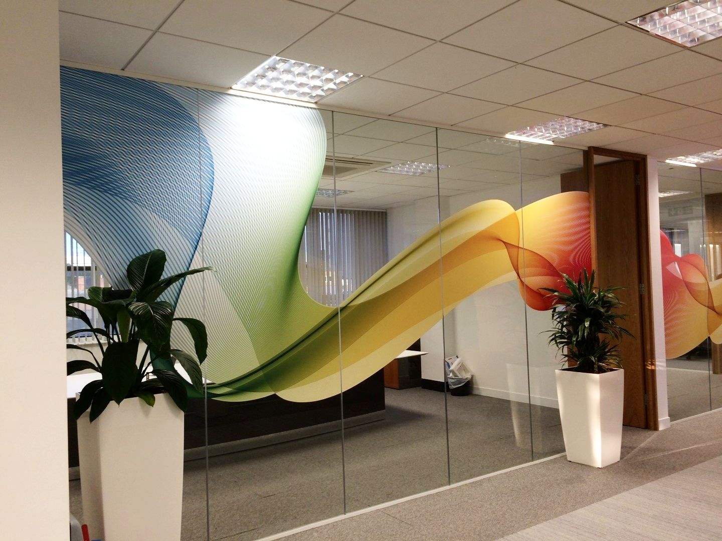 Office Window Graphics