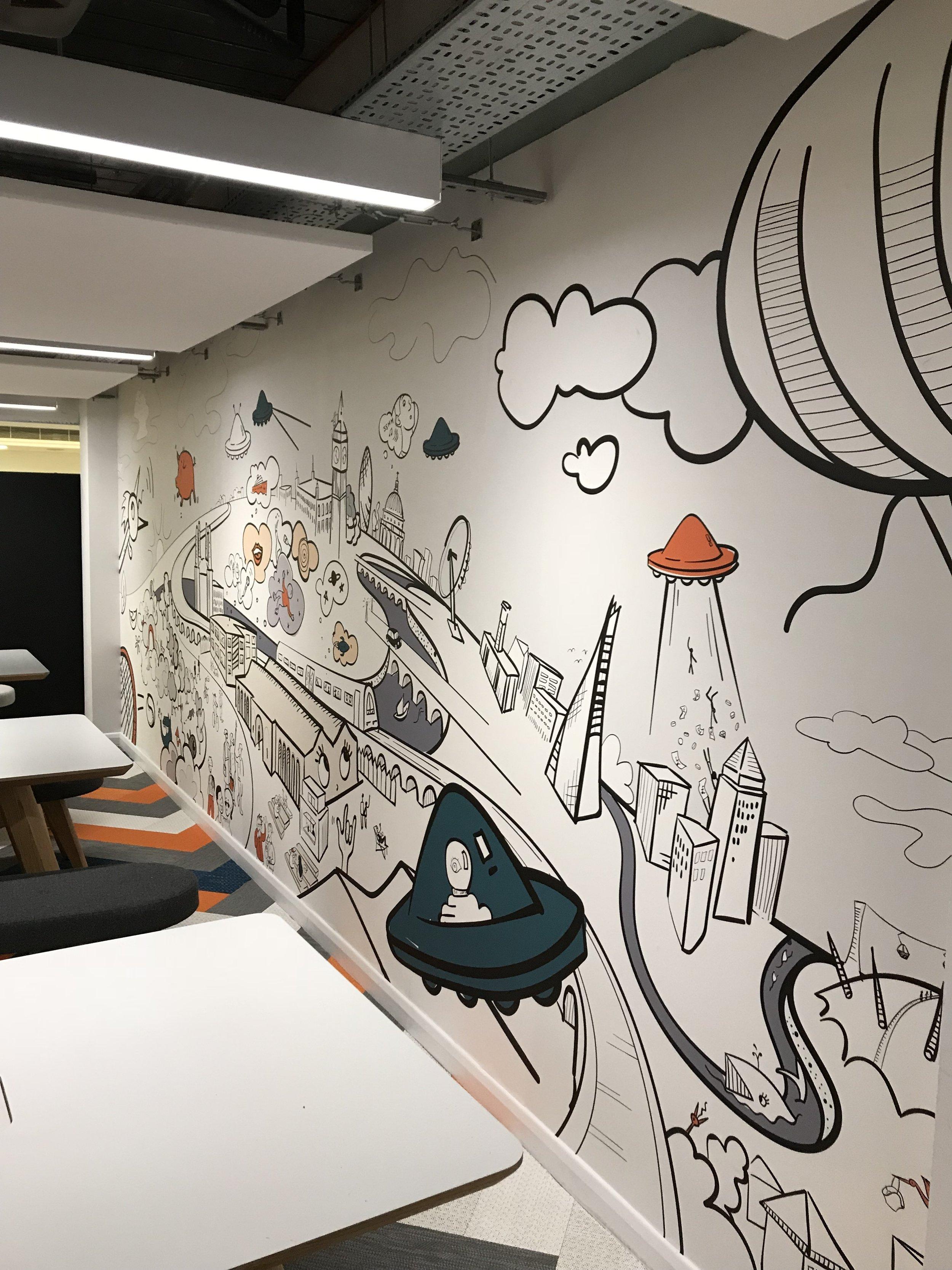 Digital Wallpaper - Offices