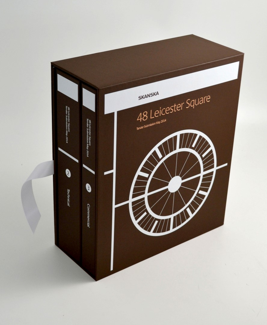 Slipcase Presentation Box