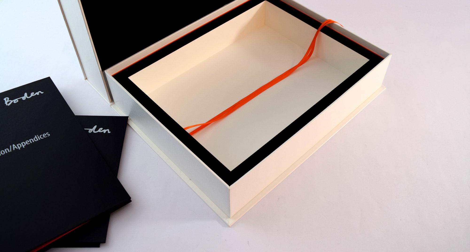 Clamshell Presentation Box Insert