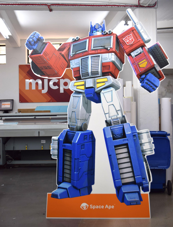 Optimus Prime cutout
