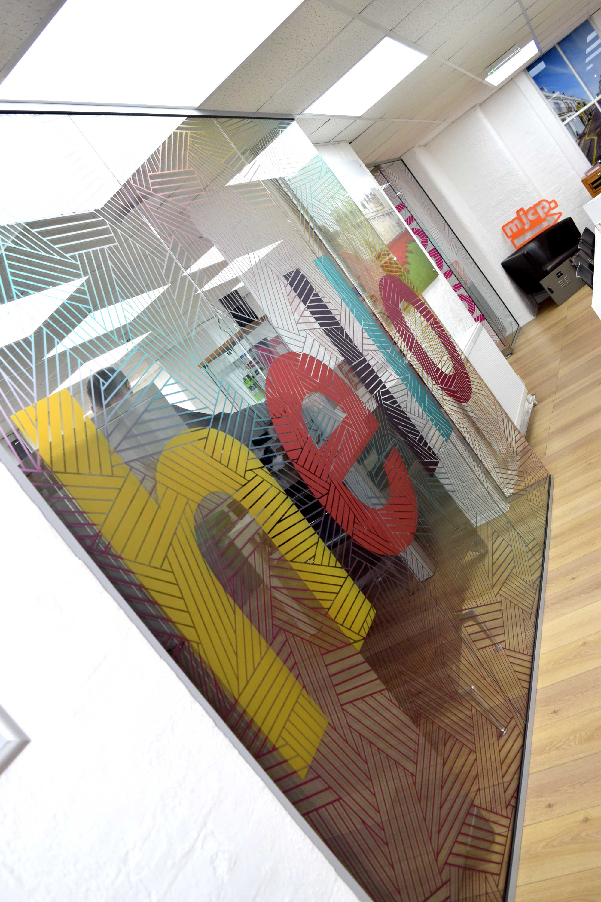 Glass Offices - Graphics