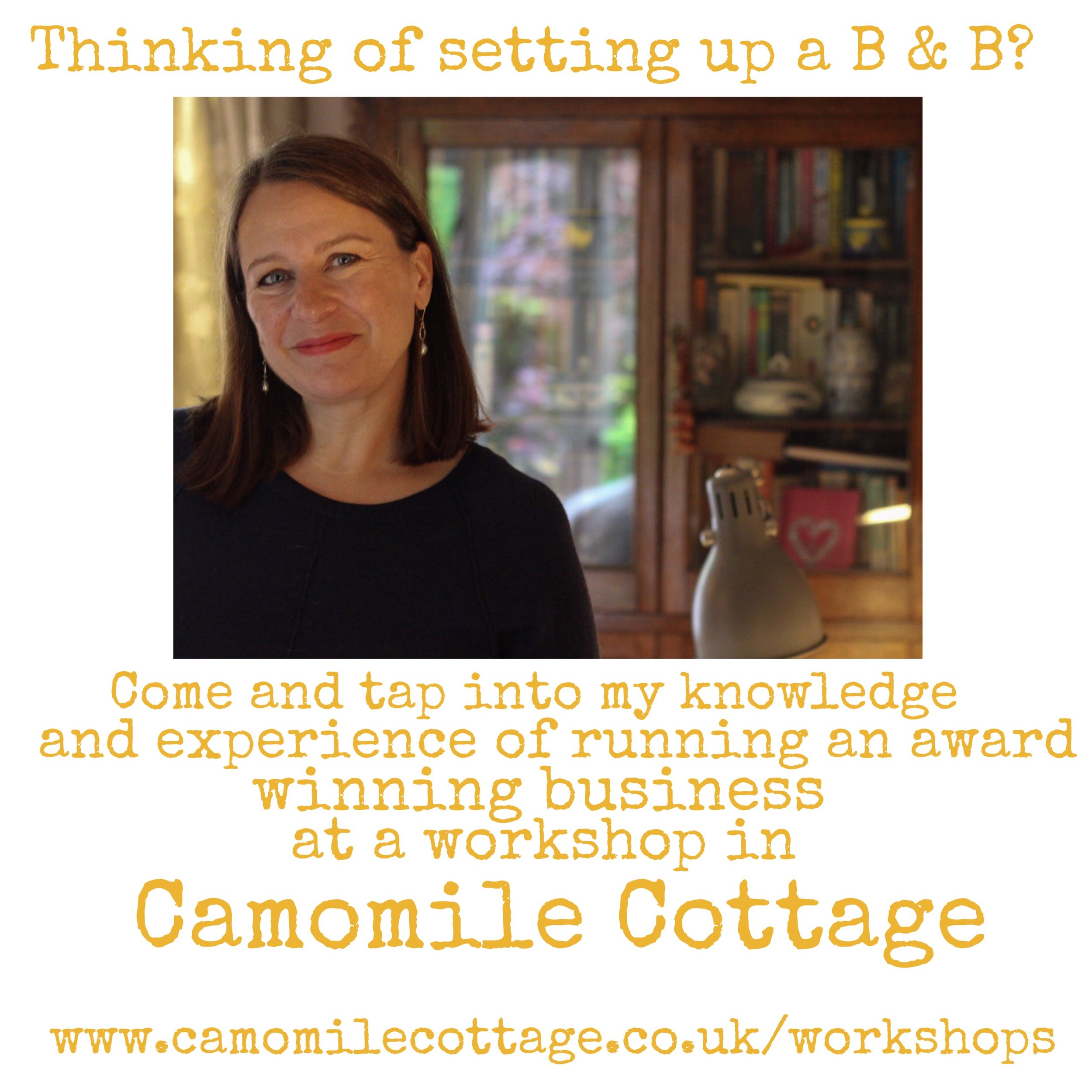 First date 8th January 2018 at Camomile Cottage B & B