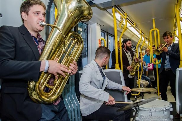Project Manager - Jam on a Tram: Metrolink SessionsSuperbia by Manchester Pride | 2014A chartered tram, filled with live performances including Twisted Tubes - a 6-piece contemporary brass ensemble, Nicole Barber-Lane (Hollyoaks) and jazz singer, Alexander Stewart.