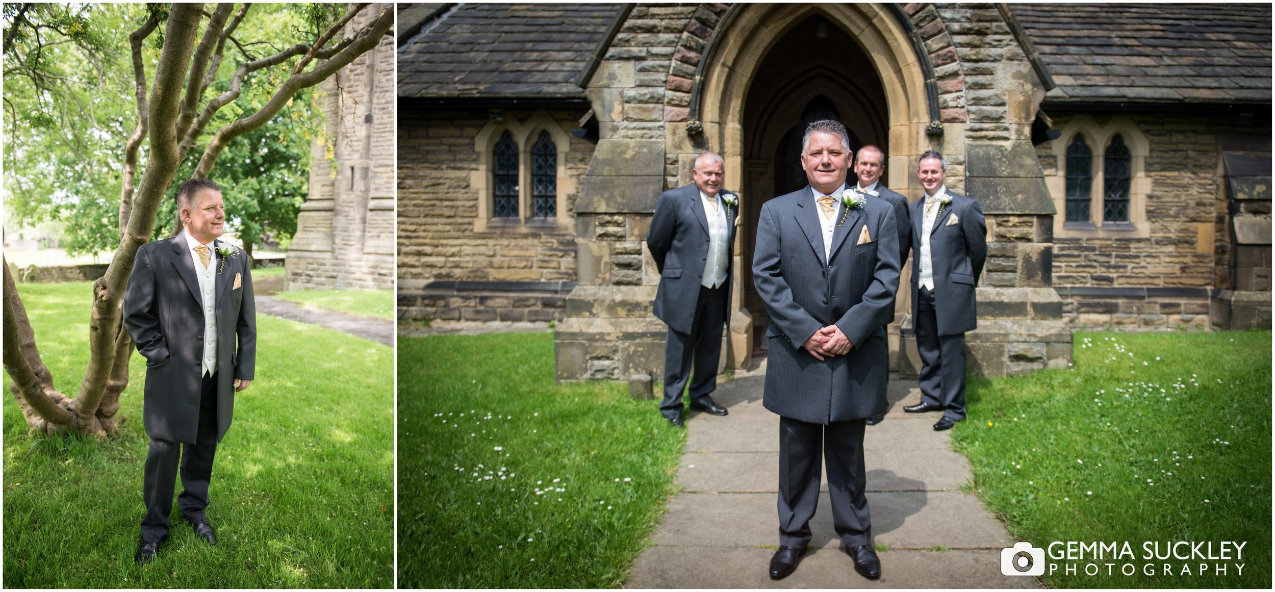 groom at Carleton Church