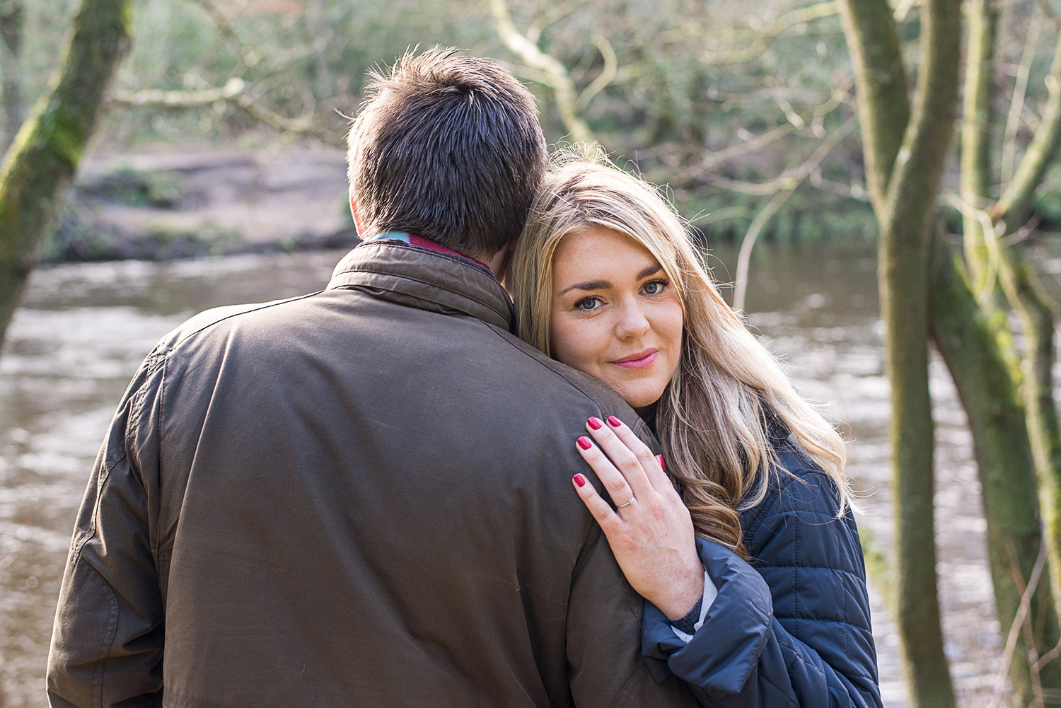 Copy of bride to be at Nidd Gorge