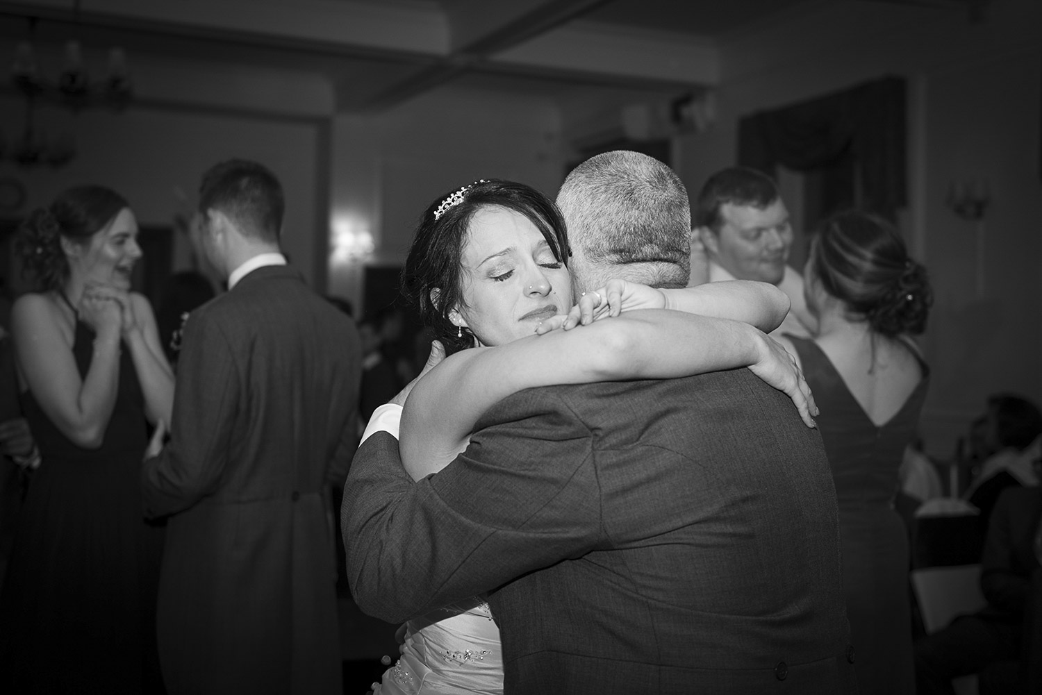Copy of bride and father dancing at hoyle court in baildon