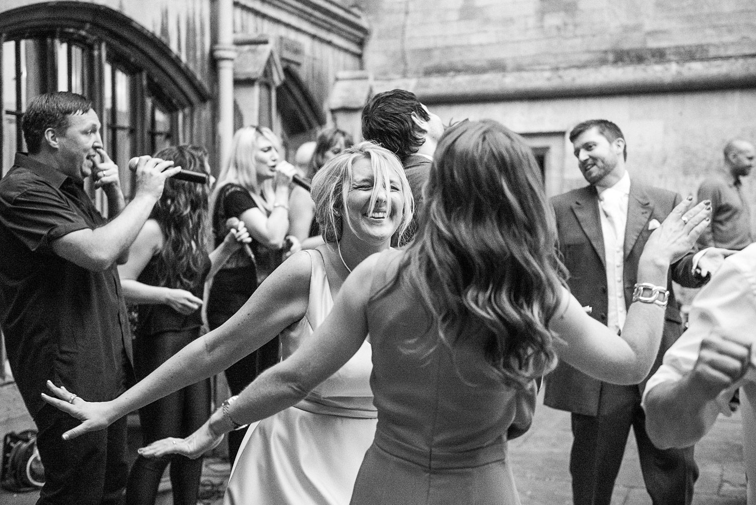 Copy of wedding guests at belvoir castle