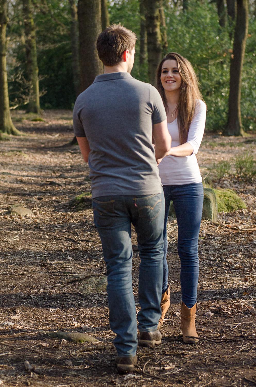 happy couple in leeds