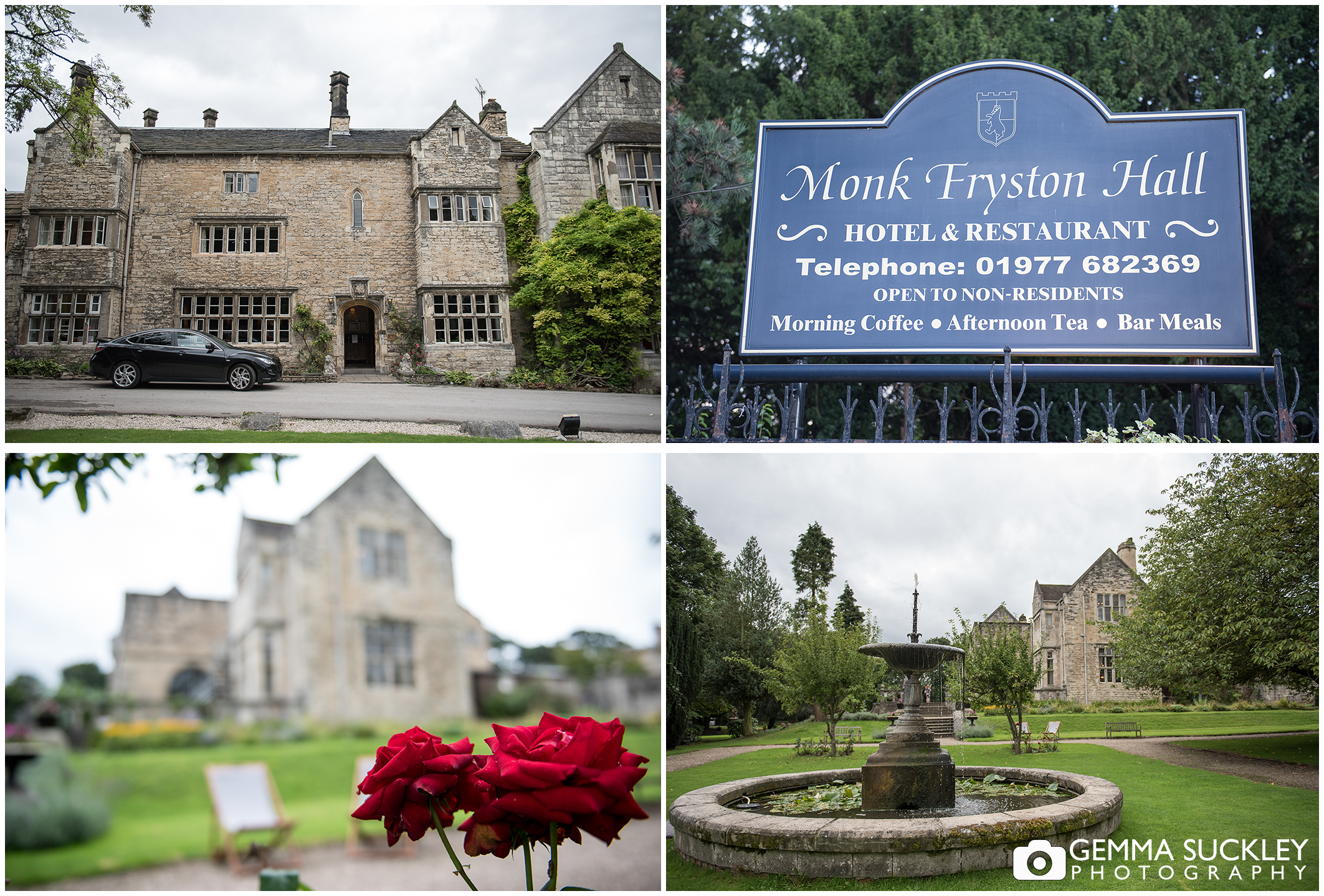 Monk Fryston Hall in Yorkshire