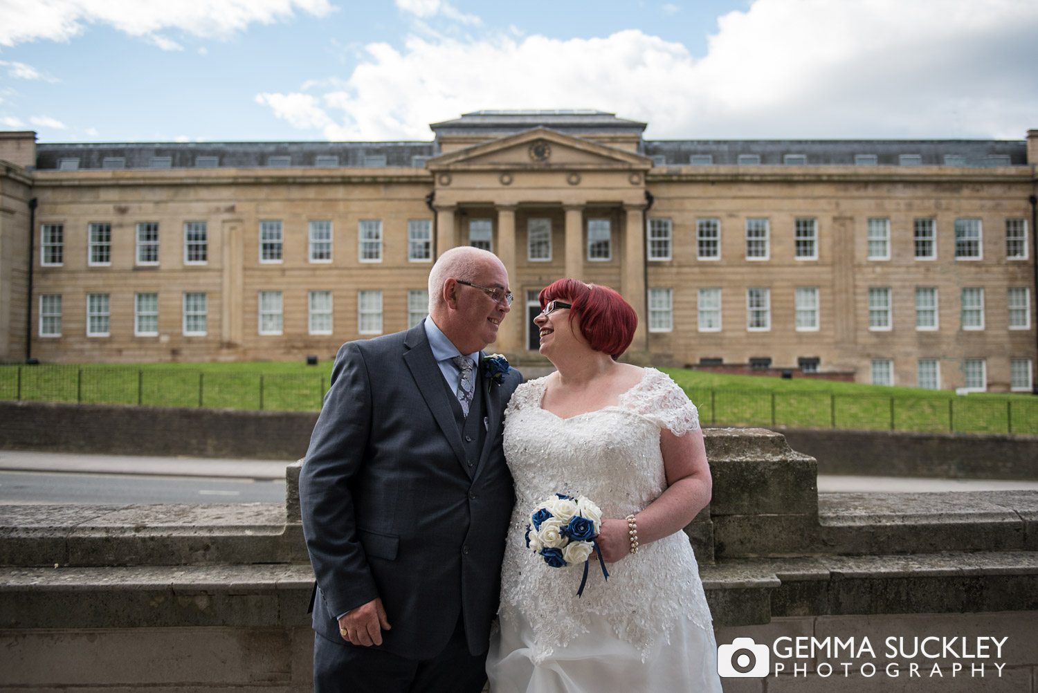 newly-weds at stockport town hall