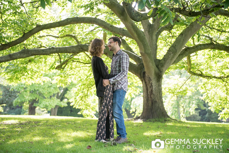 couple in valley gardens, harrogate