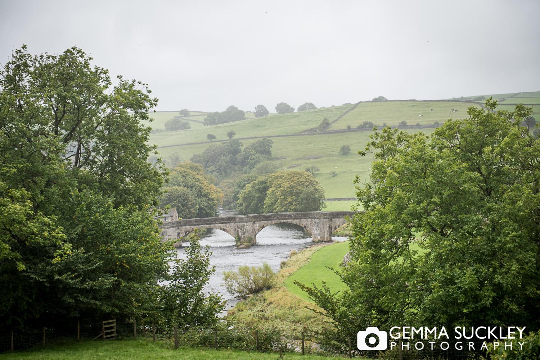 scenic view of Burnsall North Yorkshire