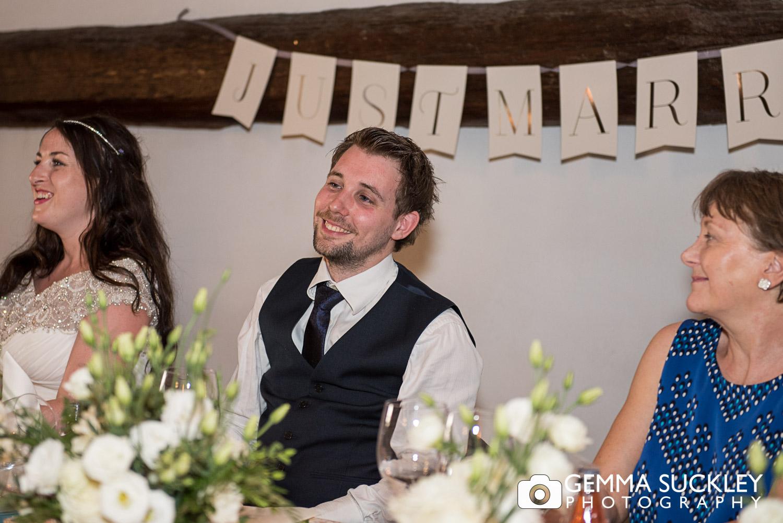 Yorkshire groom at his Lake Garda wedding