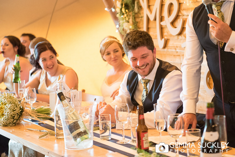 wedding speeches at oaklands wedding