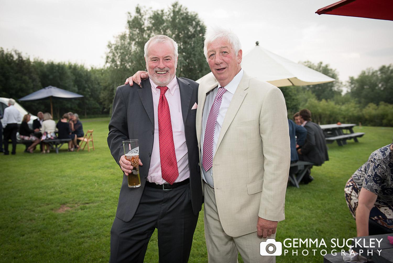 wedding guest at Oaklands east Yorkshire