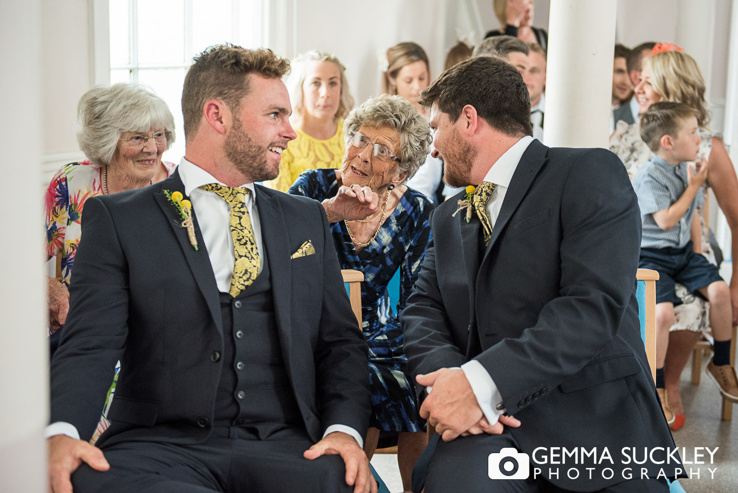 Groom in the church at Driffield
