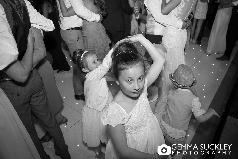 flower-girls-dancing-during-wedding-at-moorlands-inn.JPG