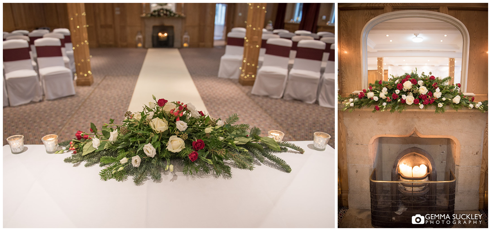 The Devonshire Arms, Bolton Abbey wedding ceremony room