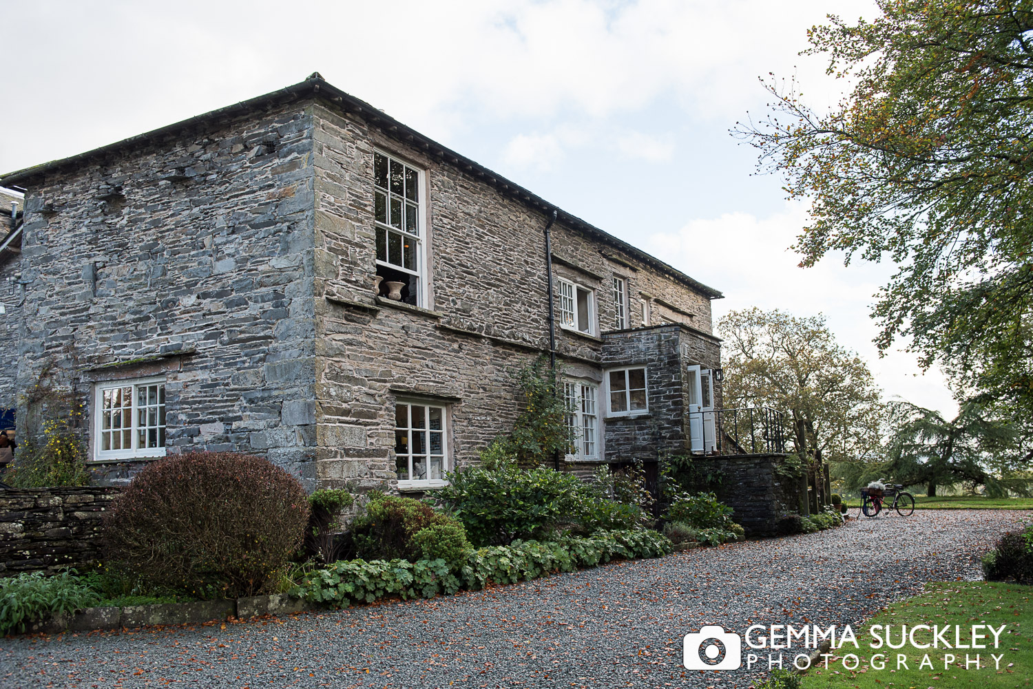 Belmount Hall wedding venue in the Lake district