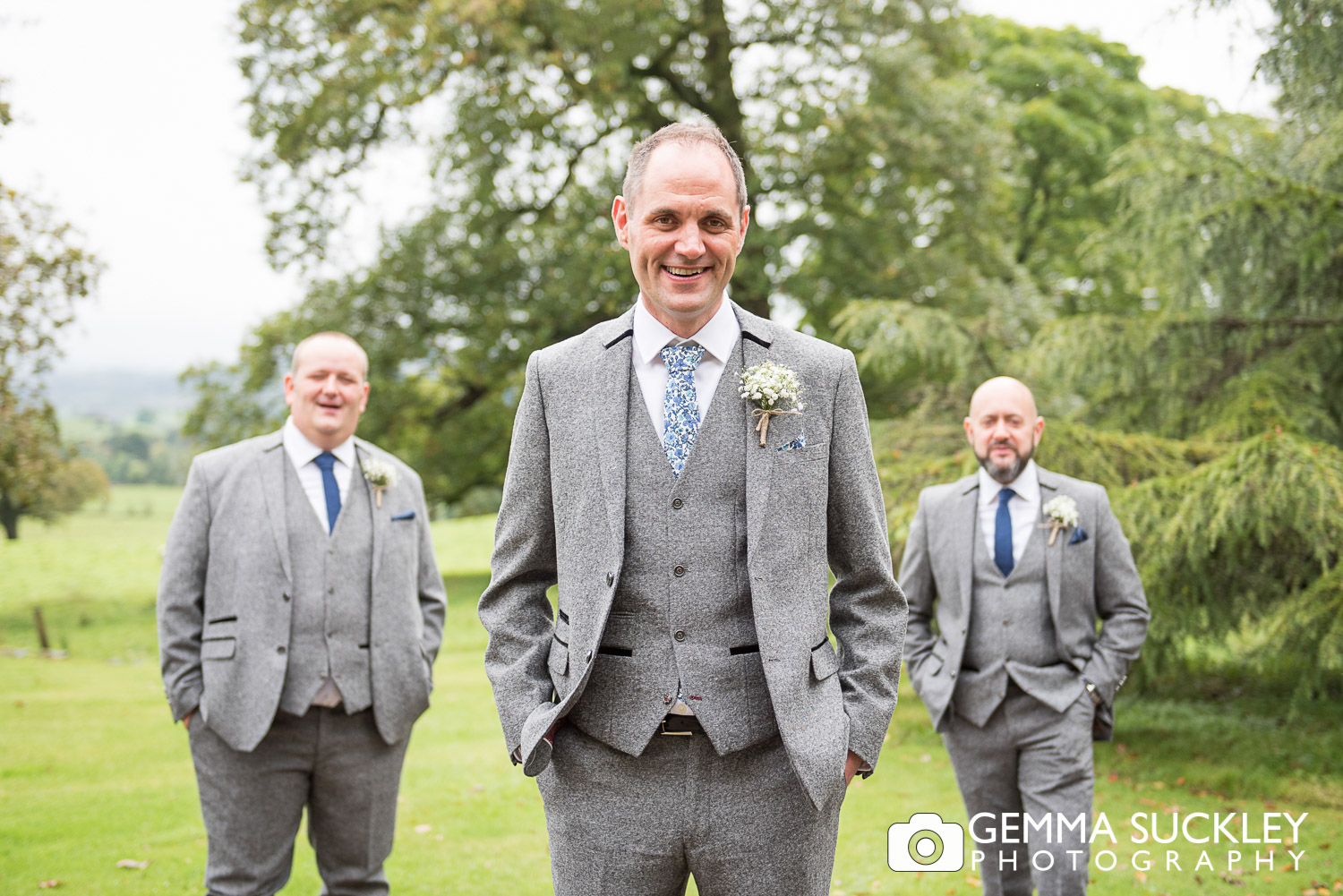 grooms-party-belmount-hall-hawkshead.JPG