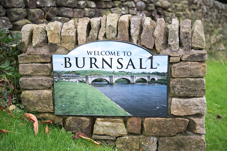 Burnsall sign